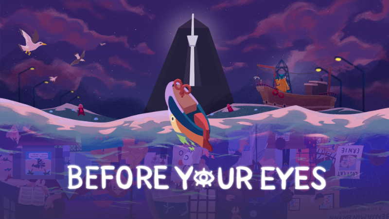 Before Your Eyes Logo
