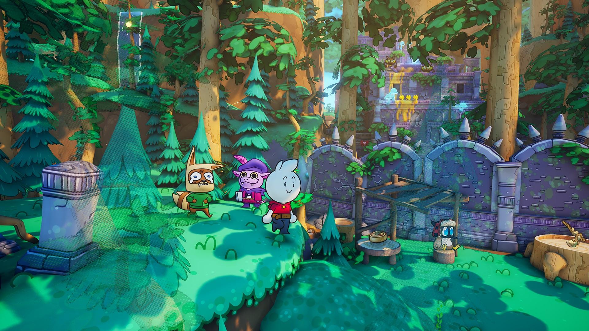 Born of Bread Paper Mario RPG Indie Wild Arts Studio
