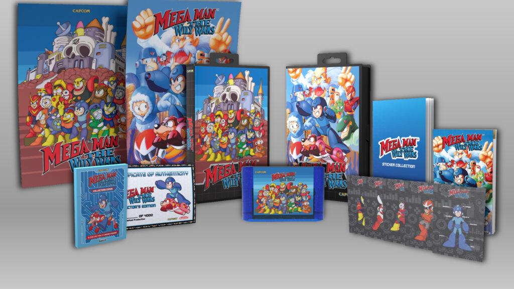 Mega Man The WIly Wars Limited Run Games Capcom