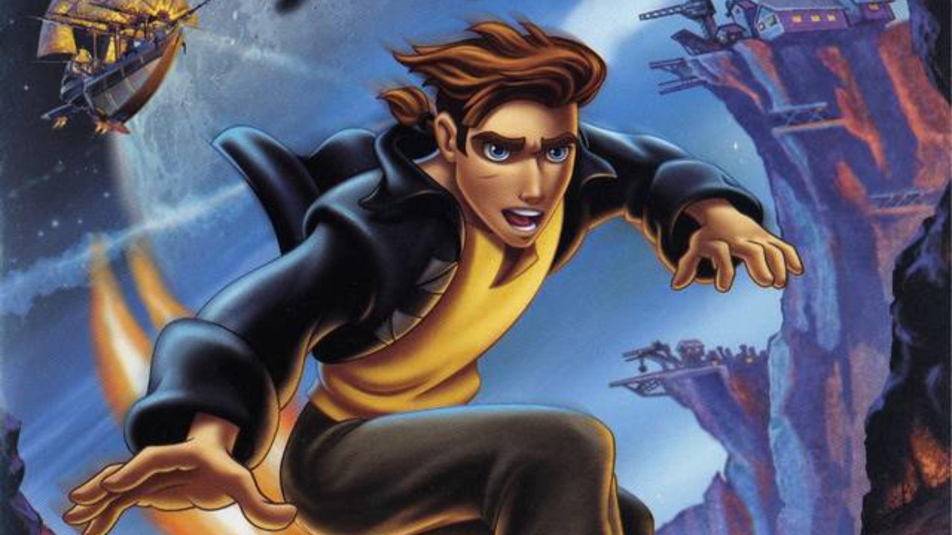 Treasure Planet PS2 Cover Art