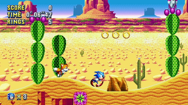 Sonic Mania PlayStation Now