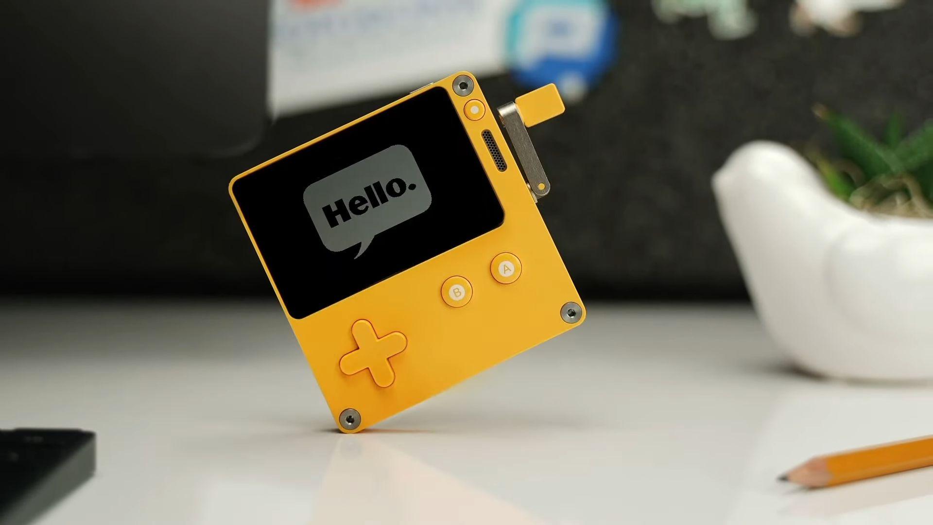 Playdate Panic Crank Portable System