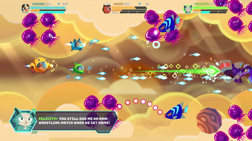 B.Ark Gameplay Shmup Switch Co Op PC