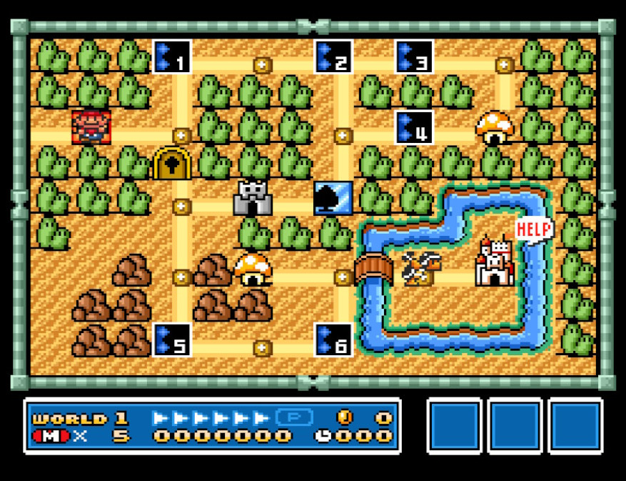 Word 1 map in SMB3