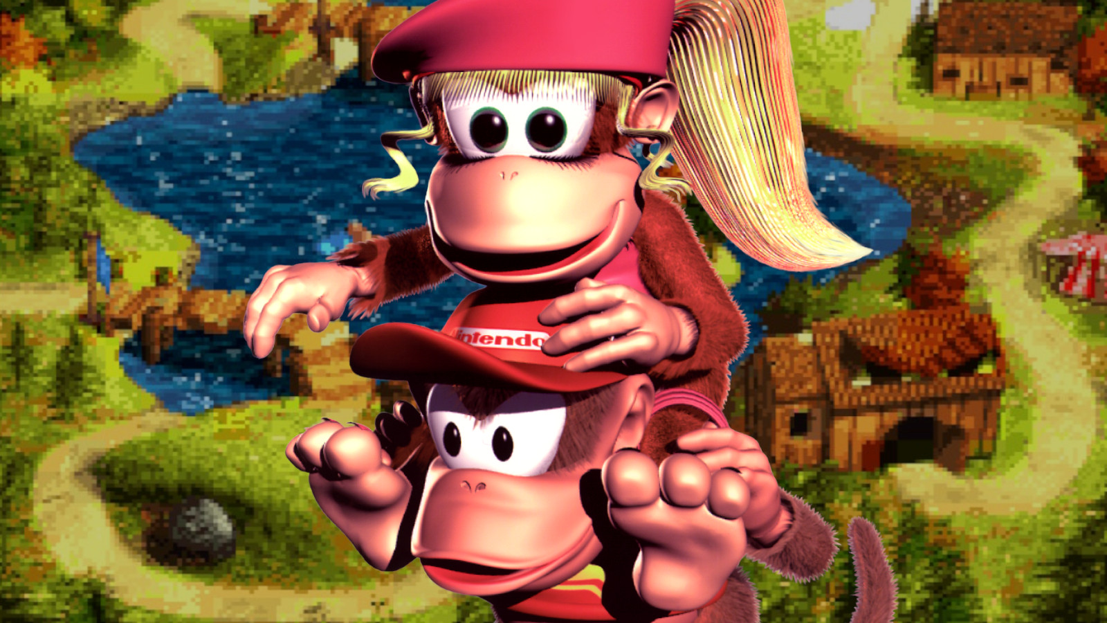 Dixie and Diddy Kong