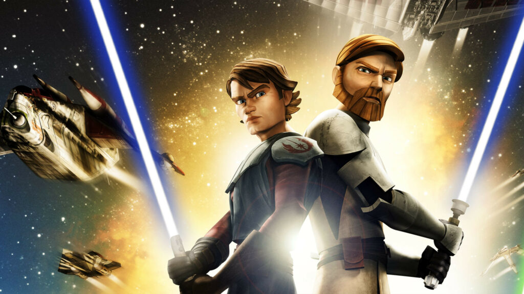 Key art for The Clone Wars 2008