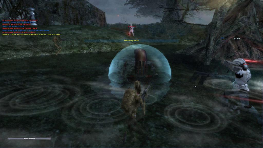 Dagobah in Battlefront 2