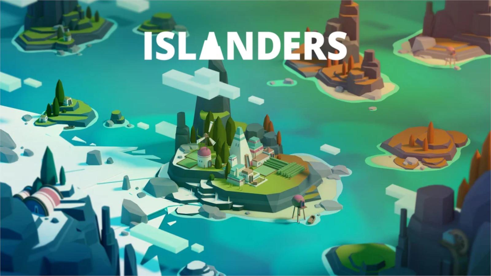 Key art for Islanders on Nintendo Switch