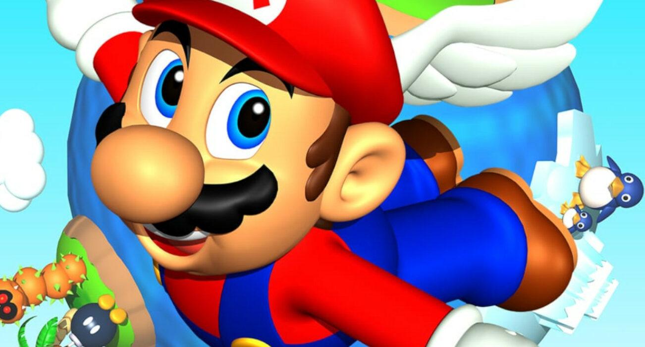 Super Mario 64 Key Art