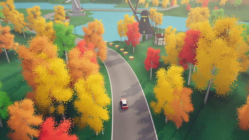 Official screenshot for Art of Rally (Steam)