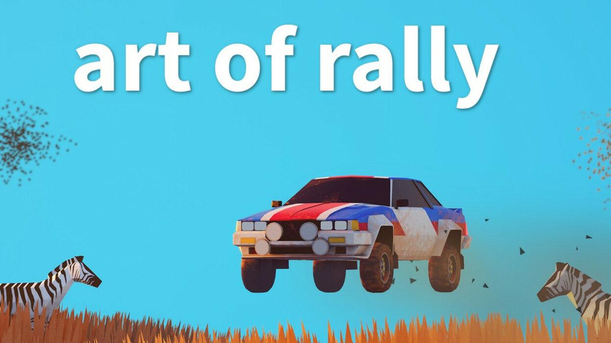 Key art for Art of Rally