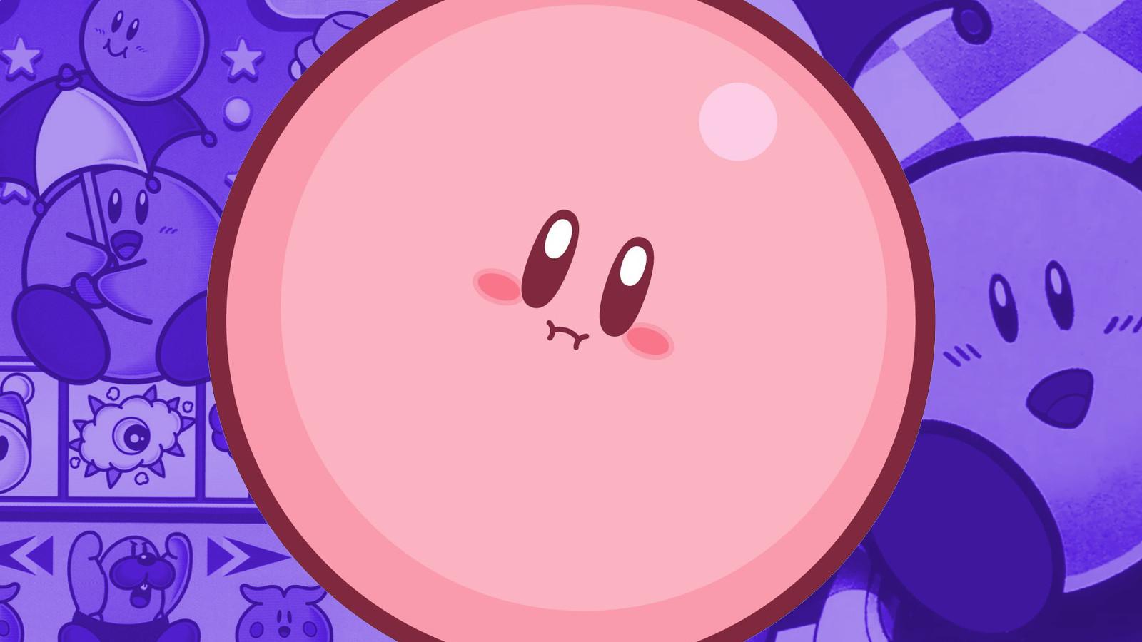 Kirby as a ball