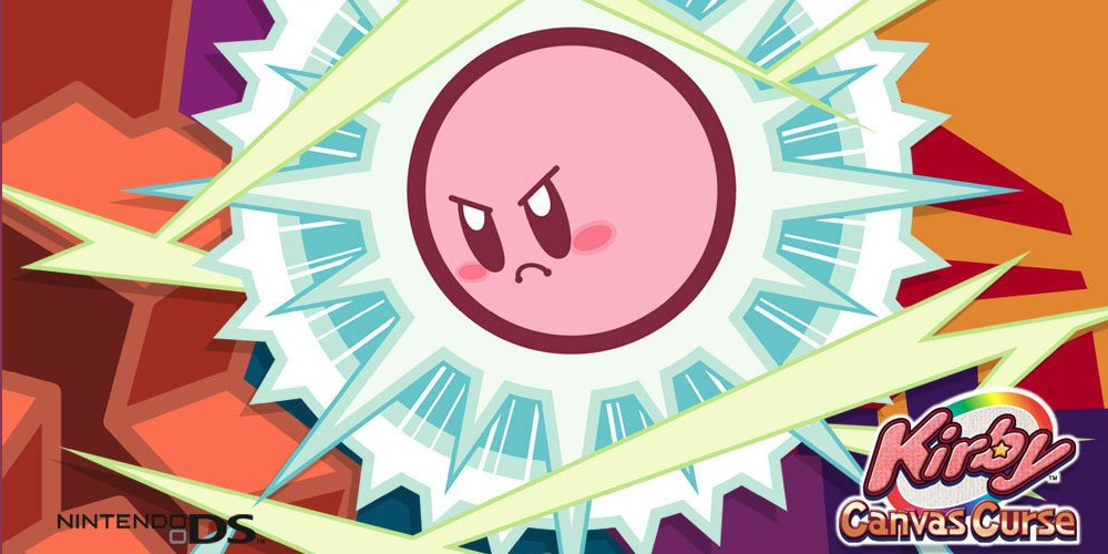 Kirby Canvas Curse advertisement