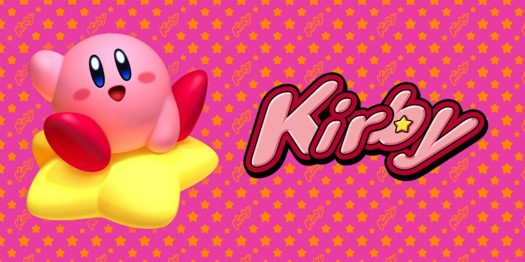 Official art for the Kirby Nintendo site