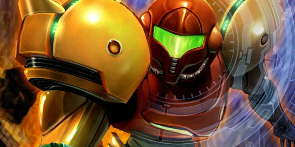 Japanese box art for Metroid Prime