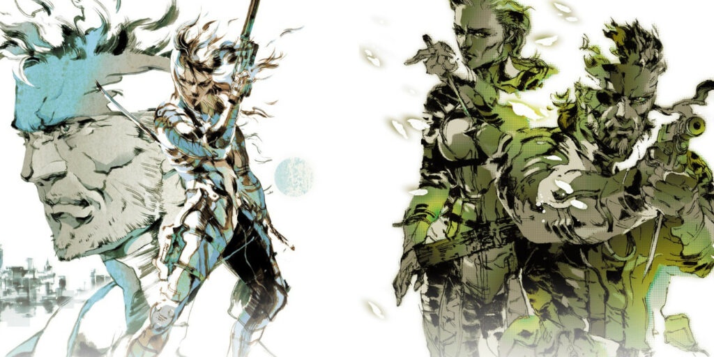 Key art for the Metal Gear Solid HD collection