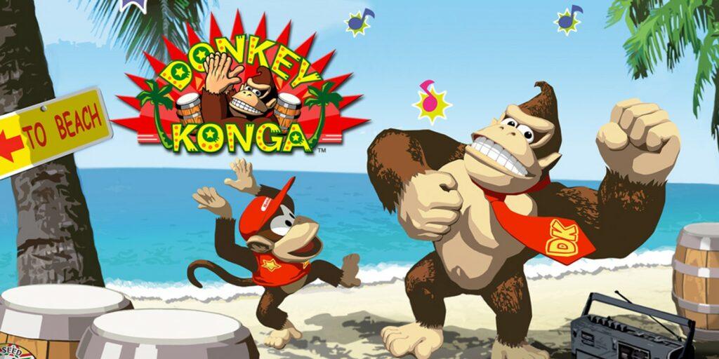 Key art for Donkey Konga
