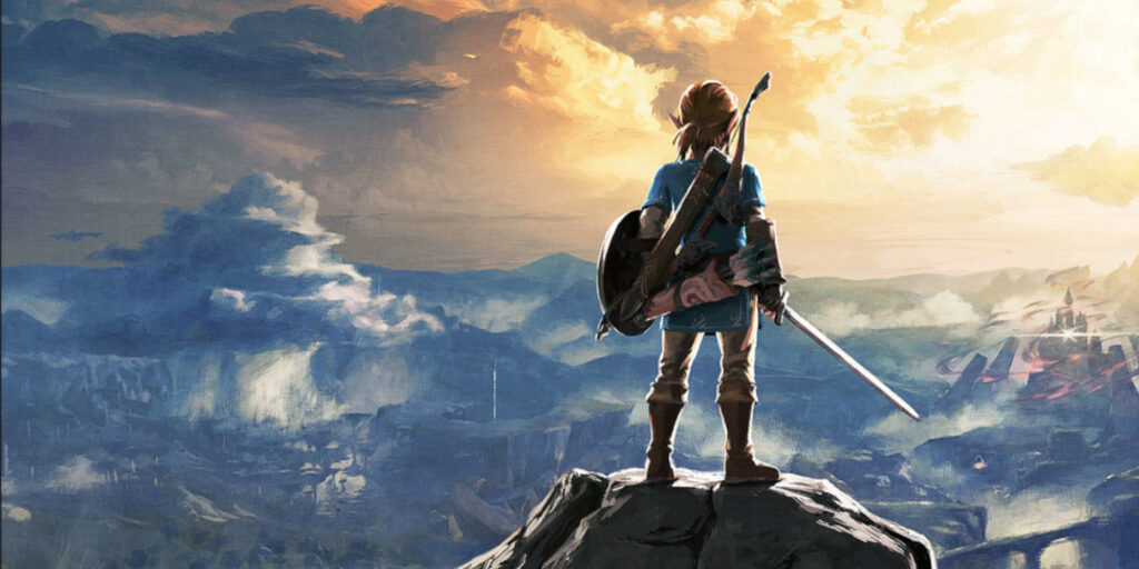 Key art for Breath of the Wild