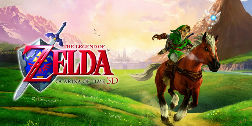 Key art for Ocarina of Time 3D