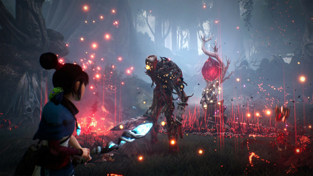 Official screenshot for Kena: Bridge of Spirits
