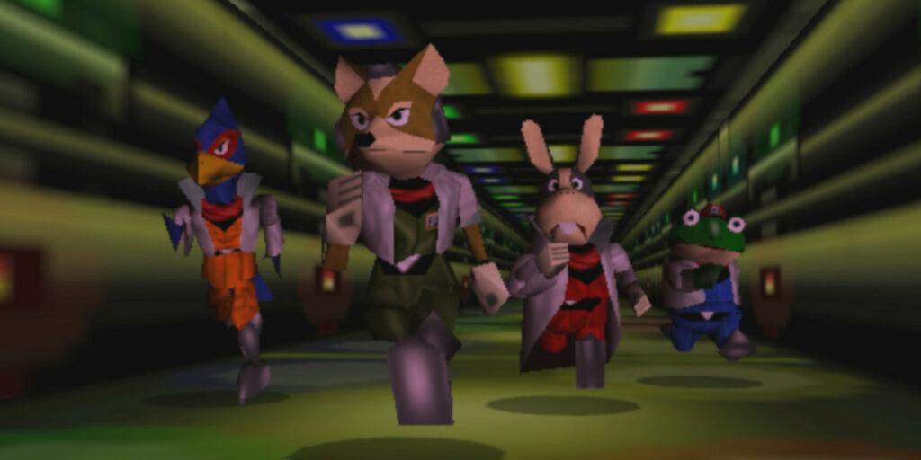 The Star Fox 64 cast