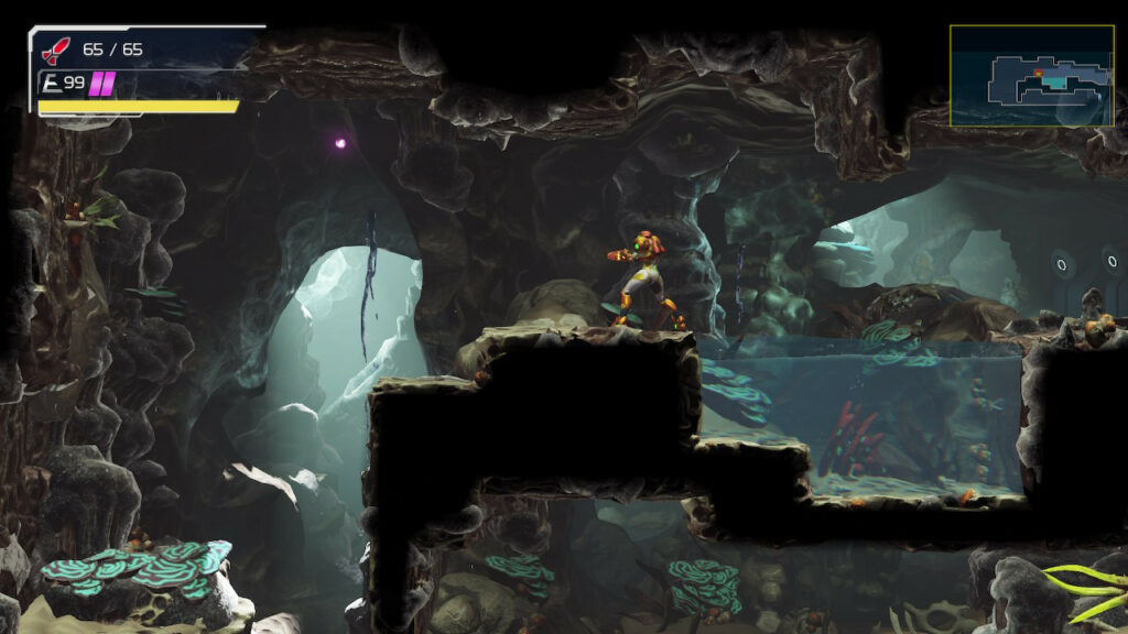 Planet ZDR in Metroid Dread