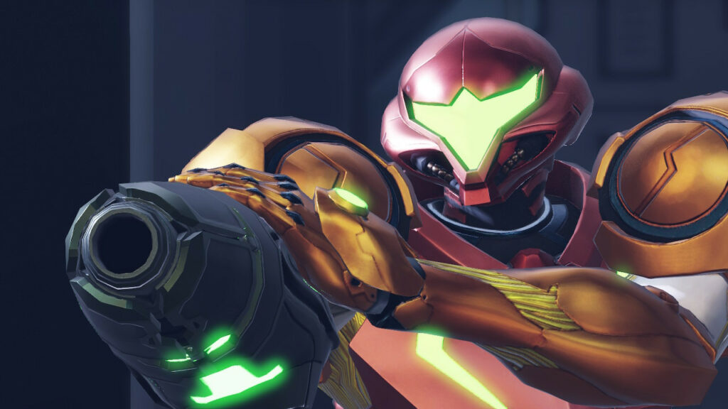 Samus Aran in Metroid Dread