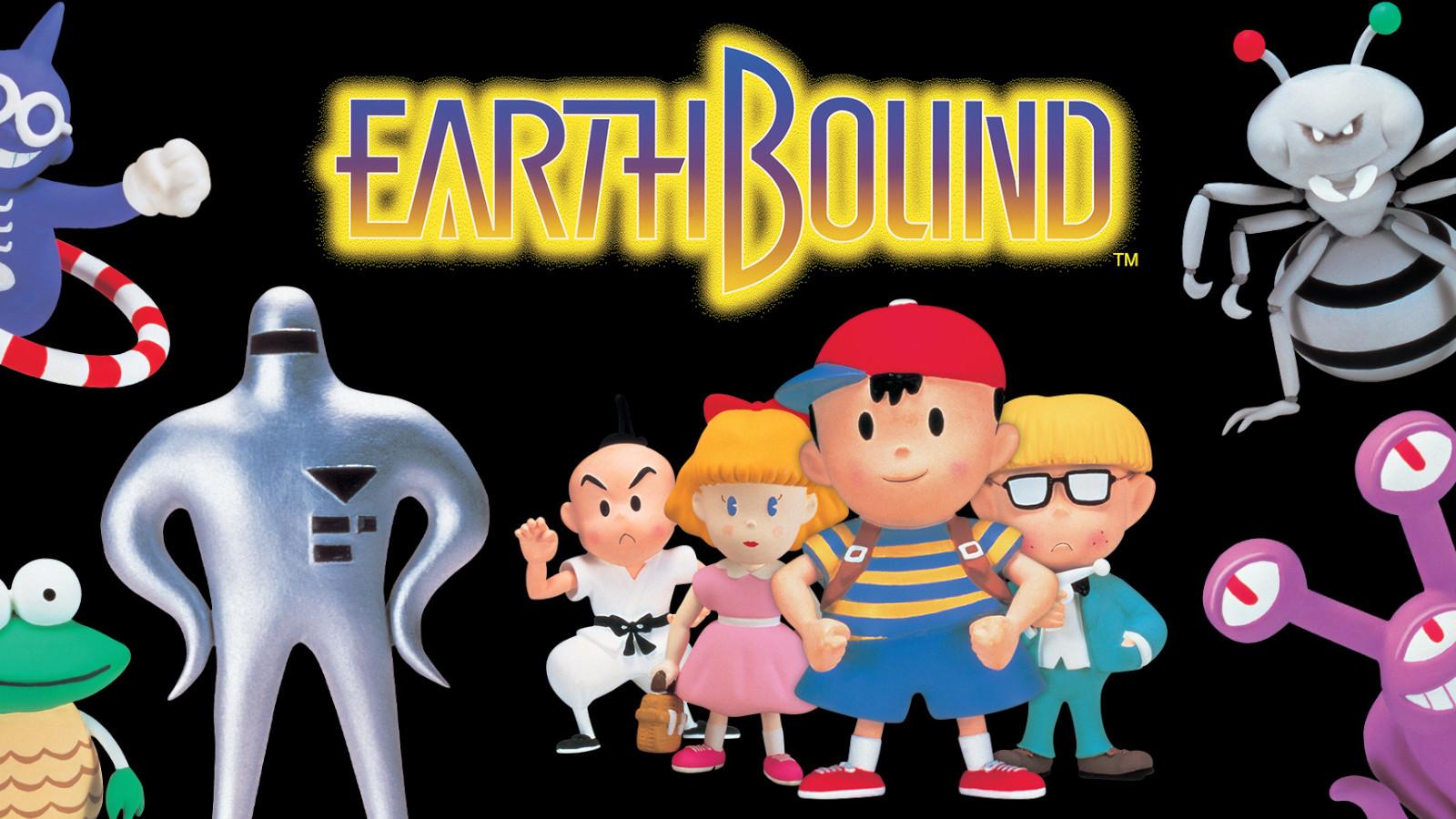 Key art for Earthbound